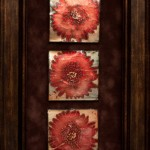 Crimson Trio  9 in x 12 in
